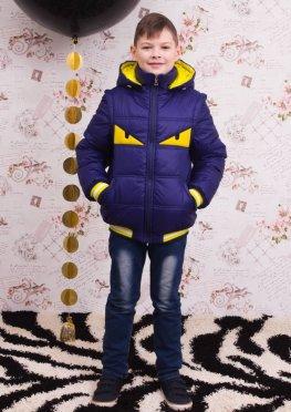 Весенняя куртка для мальчика Пикабу