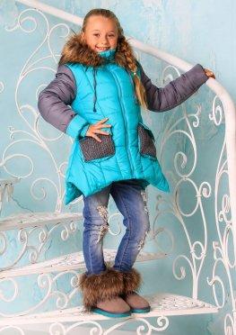 Куртка для девочки Лотос