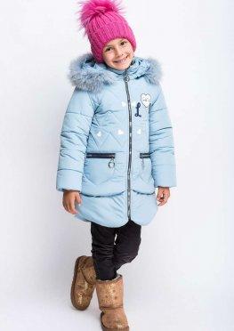 Пальто детское зимнее Киса