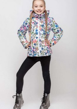 Демисезонная куртка для девочки vkd 4