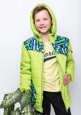 Демисезонная куртка для мальчика polo