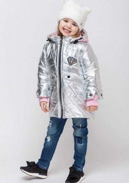 Куртка демисезонная для девочек алмаз