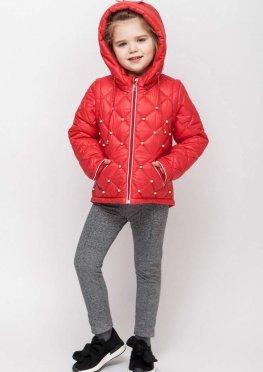 Весенняя куртка для девочки Алиса