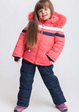 Зимний комбинезон для девочки kd-1