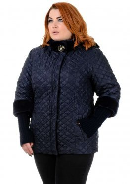 Куртка Мишель синяя