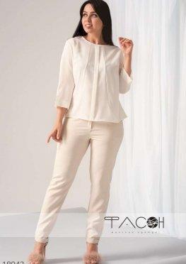 Блузка с планкой спереди