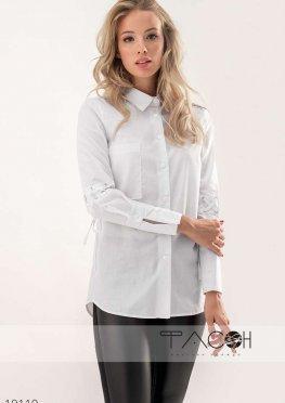 Рубашка со шнуровкой