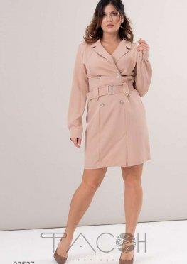 Платье-блейзер с поясом