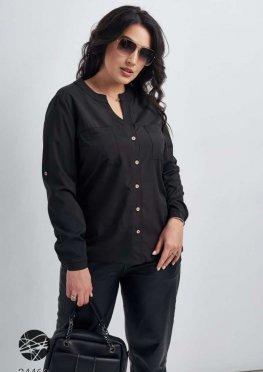 Рубашка с V-образным вырезом