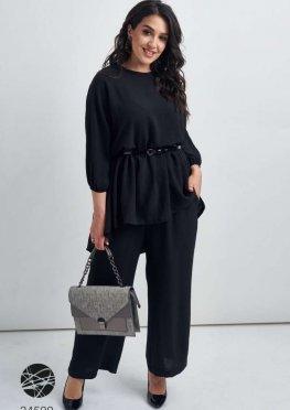 Комплект из блузы и кюлотов