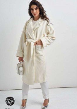 Кашемировое oversize-пальто