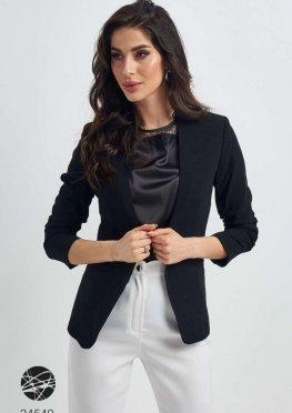 Пиджак с фальш-карманами