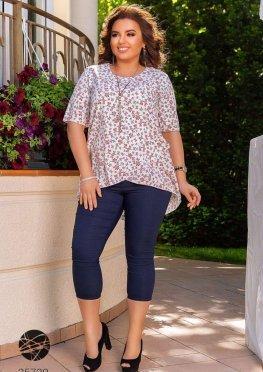 Комплект: блуза и леггинсы-капри