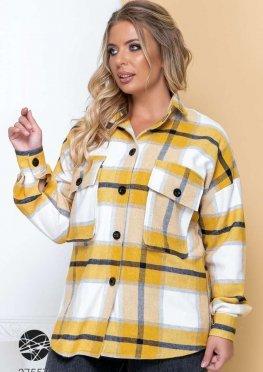 Шерстяная рубашка со съёмной подкладкой