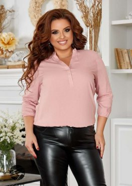 Блуза с рукавами три четверти