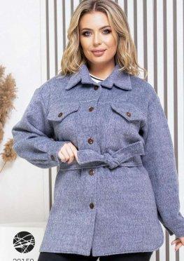 Кашемировая куртка-рубашка