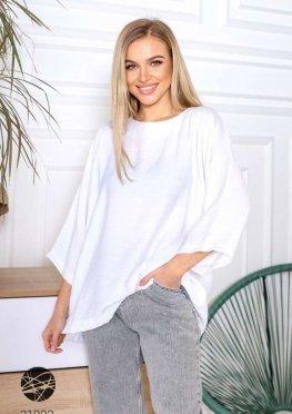 Свободная блуза с рукавами реглан