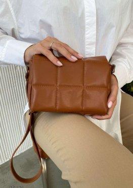 Стеганная сумка через плечо