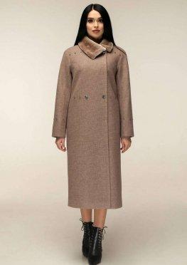 Пальто П-1234 и/м Шерсть пальтовая W7-18162 Тон 2
