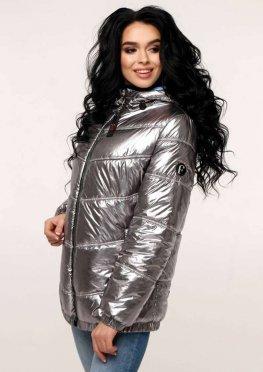 Куртка В-1237 Фольга Тон 5 + Тон 11