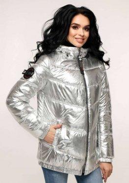 Куртка В-1237 Фольга Тон 8 + Тон 21