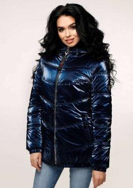 Куртка В-1237 Фольга Тон 14 + Тон 8