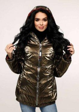 Куртка В-1237 Фольга Тон 10 + Тон 76