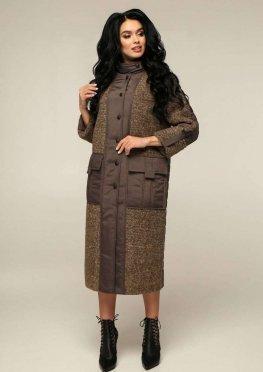 Пальто В-1242 Art.6484 Teddy Bouclet Тон 1018