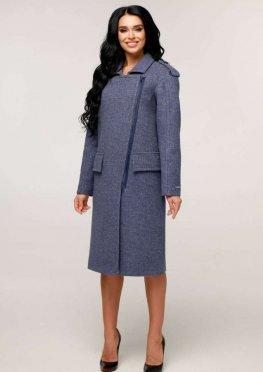 Пальто В-1252 Шерсть пальтовая W7-18145 Тон 11