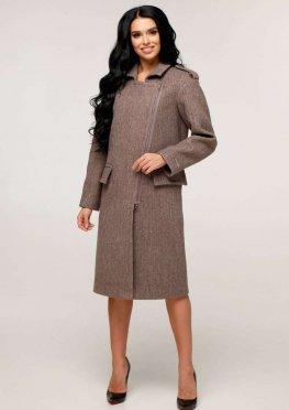 Пальто В-1252 Шерсть пальтовая W7-18145 Тон 3