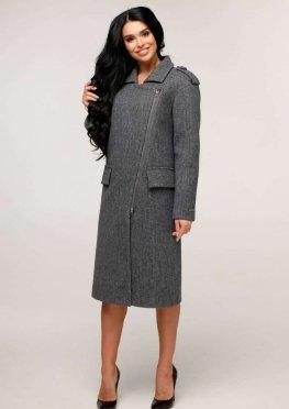 Пальто В-1252 Шерсть пальтовая W7-18145 Тон 6