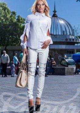 Рубашка белая коттоновая