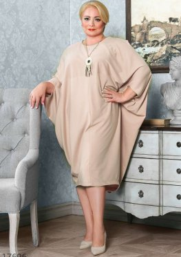 Элегантное платье-кокон