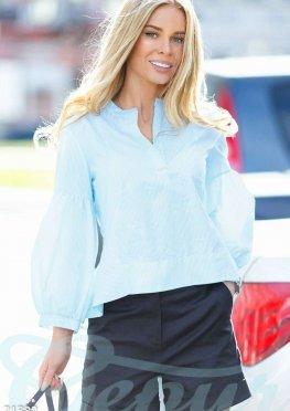 Нежная сатиновая блуза