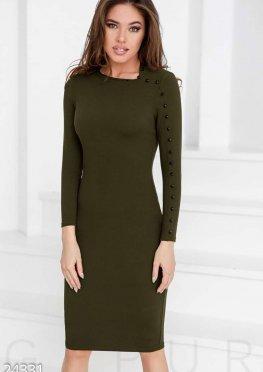 Оригинальное платье-резинка
