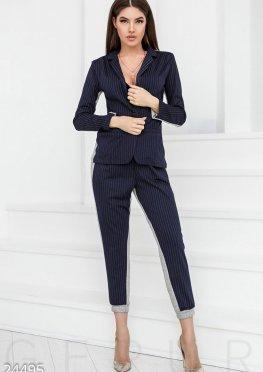 Трендовый комбинированный костюм