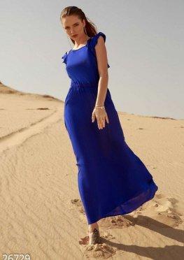 Однотонный летний сарафан