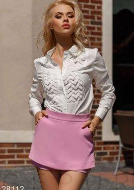 Оригинальные шорты-юбка