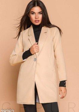 Лаконичное пальто-пиджак