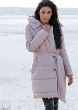 Зимнее стеганое пальто