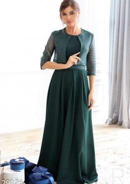 Стильное платье с болеро