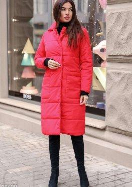Трендовое стеганое пальто