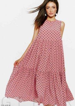 Платье в стильный горошек
