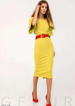 Приталенное платье-миди