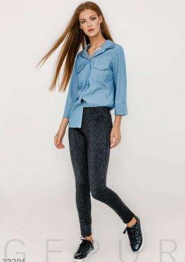 Облегающие женские брюки