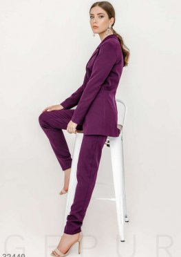 Стильный костюм с брюками