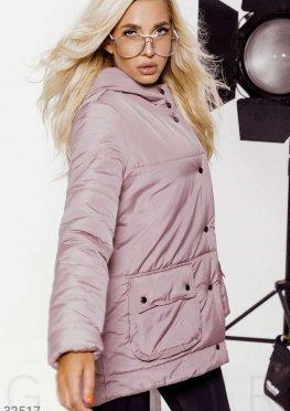 Утепленная стеганная куртка