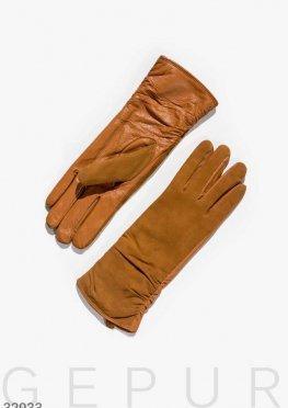 Комбинированные теплые перчатки