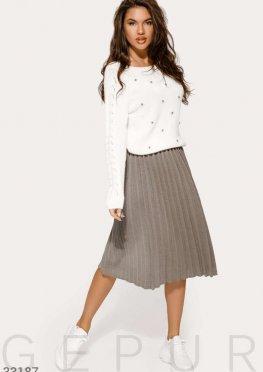 Утонченная юбка-плиссе