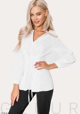 Белоснежная женская рубашка